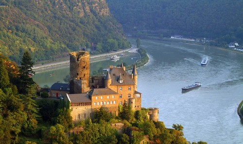 Europe's Rhine Region is stunningly beautiful.