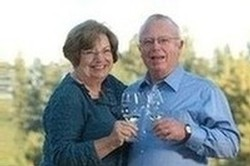 Fred and Sally Schweiger, owners of Schweiger Vineyards on Spring Mountain Road