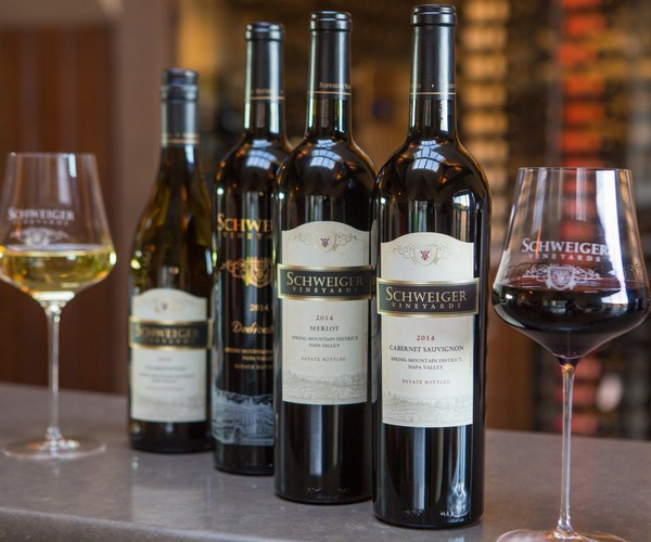 New Wine Releases for 2019 from the Spring Mountain District; 2014 Cabernet Sauvignon, 2014 Dedication, 2014 Merlot, and 2016 Chardonnay